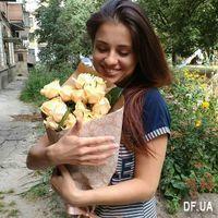 15 кремовых роз - Фото 1
