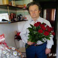 Букет 11 красных роз - Фото 7