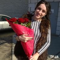 Bouquet of 9 red roses - Photo 2