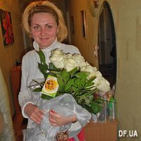 Bouquet of white roses - Photo 3