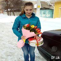 Букет из 11 тюльпанов - Фото 1