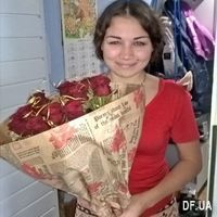 Bouquet of 15 red roses in craft - Photo 1
