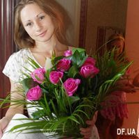 Bouquet of 9 pink roses - Photo 1