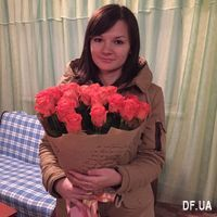 Bouquet of orange roses - Photo 1
