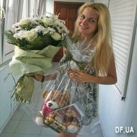 Букет светлых цветов - Фото 1