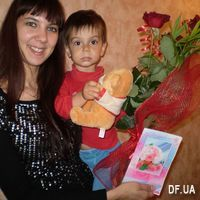 Mini bouquet of 3 roses - Photo 1