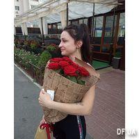 Простой букет из 7 роз