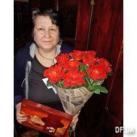 Букет 11 красных роз - Фото 17
