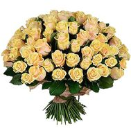 101 Creme Rose - flowers and bouquets on df.ua