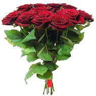 11 красных роз - цветы и букеты на df.ua