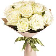 15 белых роз - цветы и букеты на df.ua