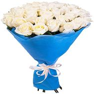"""33 white roses"" in the online flower shop df.ua"