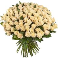 Bouquet of 101 cream-colored roses - flowers and bouquets on df.ua