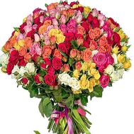 Bouquet of 101 bush roses - flowers and bouquets on df.ua