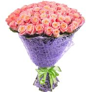 """101 Rose Miss Piggy"" in the online flower shop df.ua"