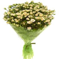 Bouquet of 21 bush roses - flowers and bouquets on df.ua