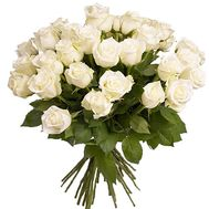 21 white rose - flowers and bouquets on df.ua
