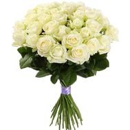 25 white roses - flowers and bouquets on df.ua