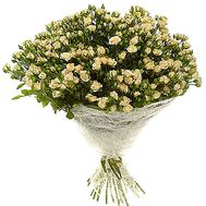 Bouquet of 31 bush roses - flowers and bouquets on df.ua