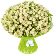 Bouquet of 51 bush roses - flowers and bouquets on df.ua