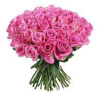 """55 pink roses"" in the online flower shop df.ua"