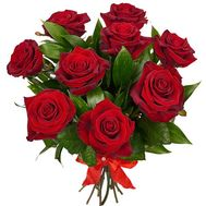 """9 red roses"" in the online flower shop df.ua"