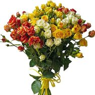 Bouquet of bush roses - flowers and bouquets on df.ua