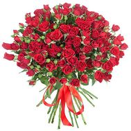 Bouquet of small roses - flowers and bouquets on df.ua