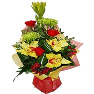 Bouquet to the chief - flowers and bouquets on df.ua