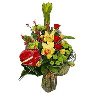 Bouquet to the boss of the man - flowers and bouquets on df.ua