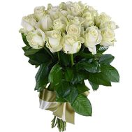 """""""21 white rose"""" in the online flower shop df.ua"""