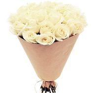 """""""27 белых роз"""" в интернет-магазине цветов df.ua"""