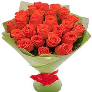 25 orange roses - flowers and bouquets on df.ua
