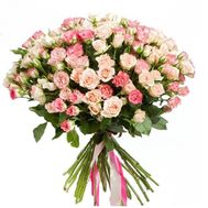 Delicate bouquet of roses - flowers and bouquets on df.ua