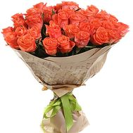 """""""35 orange roses"""" in the online flower shop df.ua"""