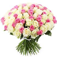 Luxurious bouquet of roses - flowers and bouquets on df.ua
