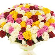The best bouquet of roses - flowers and bouquets on df.ua
