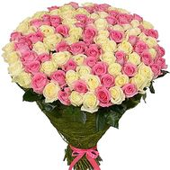 """The most chic bouquet of roses"" in the online flower shop df.ua"