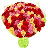 Assorted bouquet of roses - flowers and bouquets on df.ua