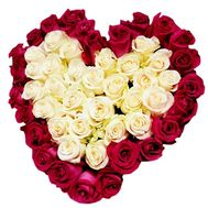 Heart of Roses - flowers and bouquets on df.ua