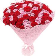 Stylish bouquet of roses - flowers and bouquets on df.ua