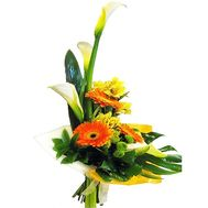Vertical bouquet of flowers - flowers and bouquets on df.ua