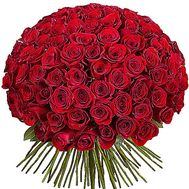 101 Dutch roses - flowers and bouquets on df.ua