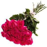 15 imported roses 80 cm - flowers and bouquets on df.ua