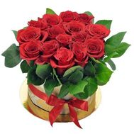 15 roses in a box - flowers and bouquets on df.ua