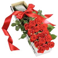 21 roses in a long box - flowers and bouquets on df.ua