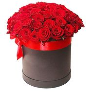 Roses in a Hat Box - flowers and bouquets on df.ua