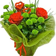 """A bouquet of flowers for dad"" in the online flower shop df.ua"