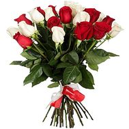 Bouquet of 23 import roses - flowers and bouquets on df.ua
