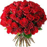Букет красных роз с днем рождения - цветы и букеты на df.ua